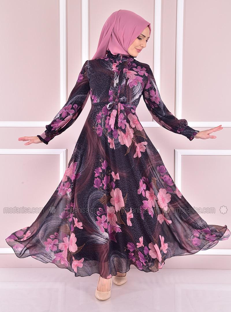 Black - Modest Evening Dress