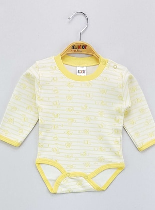 Yellow - baby bodysuits - Toontoy