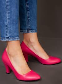 Fuchsia - Pink - High Heel - Heels