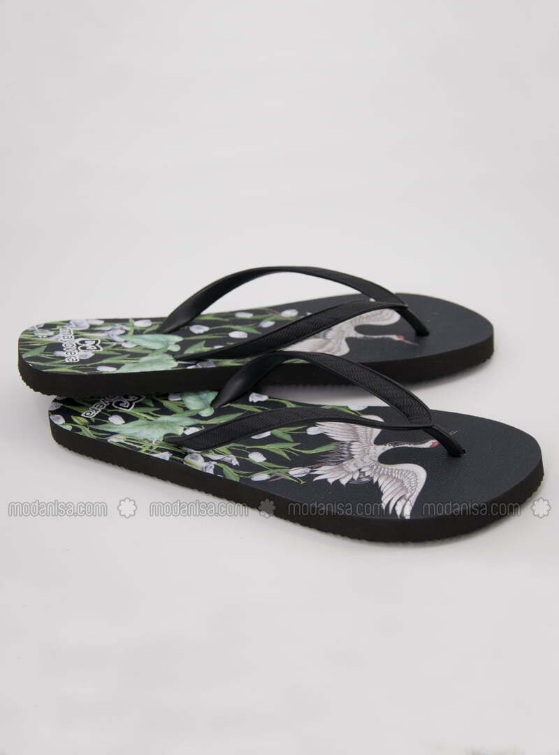 Green - Slippers