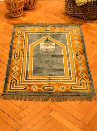 Gray - Prayer Rugs