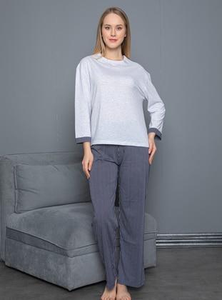 Gray - Loungewear Suits