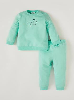 Turquoise - Baby Suit