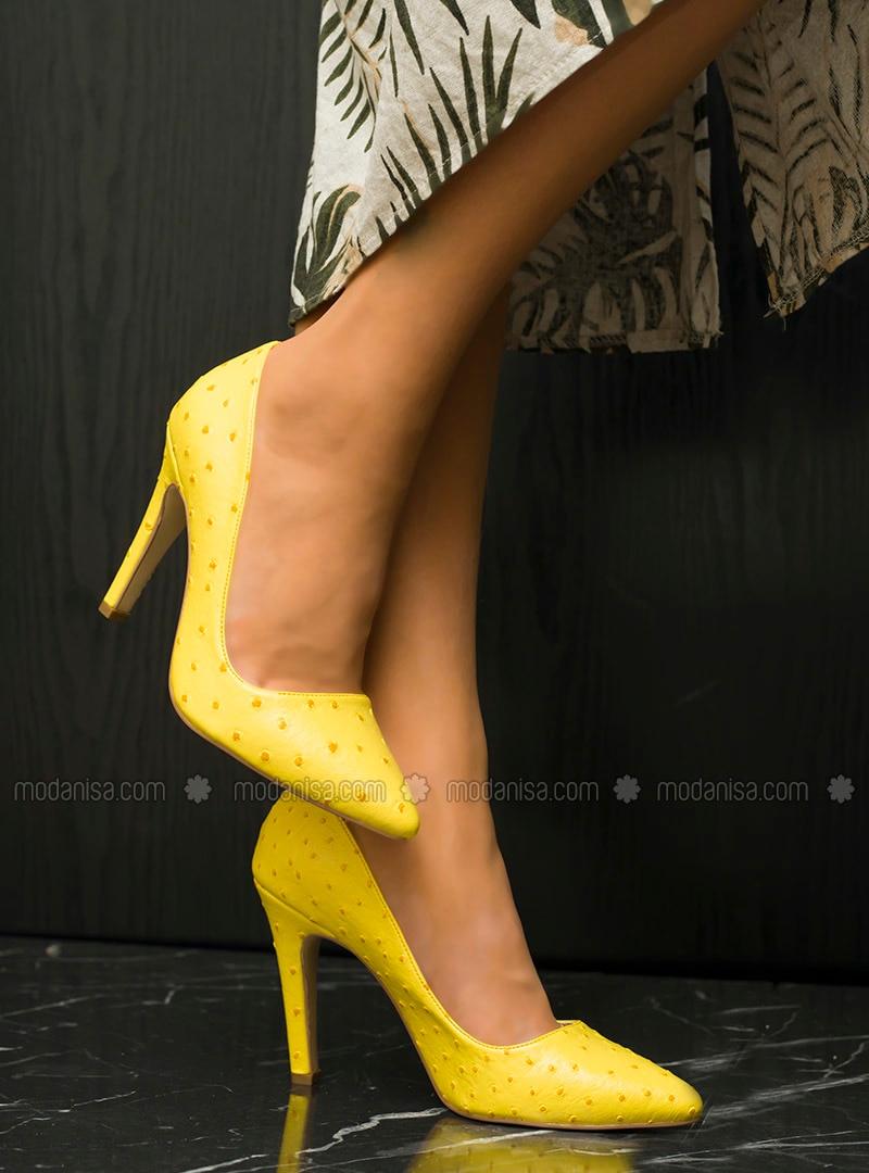 Yellow - High Heel - Heels