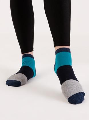 Navy Blue - Socks - AKBENİZ