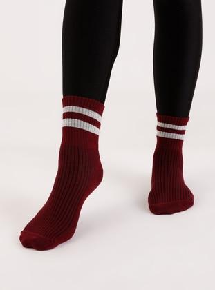 Maroon - Socks