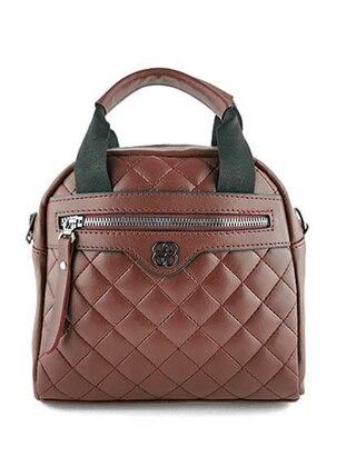 Crossbody - Satchel - Maroon - Cross Bag