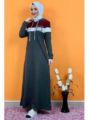Anthracite - Modest Dress