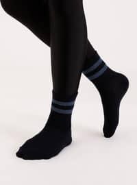 Navy Blue - Socks