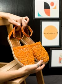 Casual - Orange - Casual Shoes