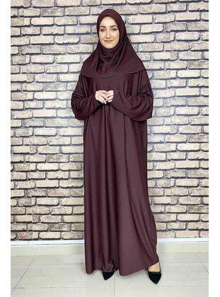 Cherry - Prayer Clothes - MODAPİNHAN