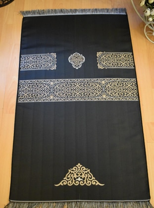 Gold - Black - Prayer Rugs