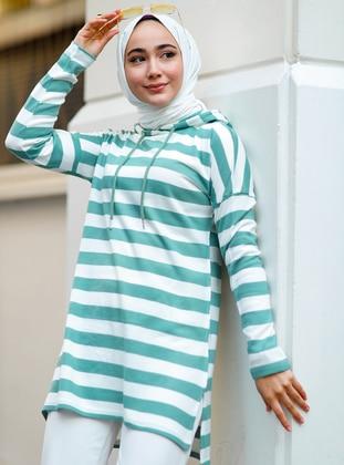 Mint - Stripe - Tunic