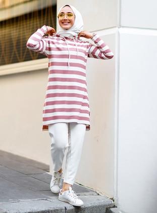Pink - Stripe - Tunic