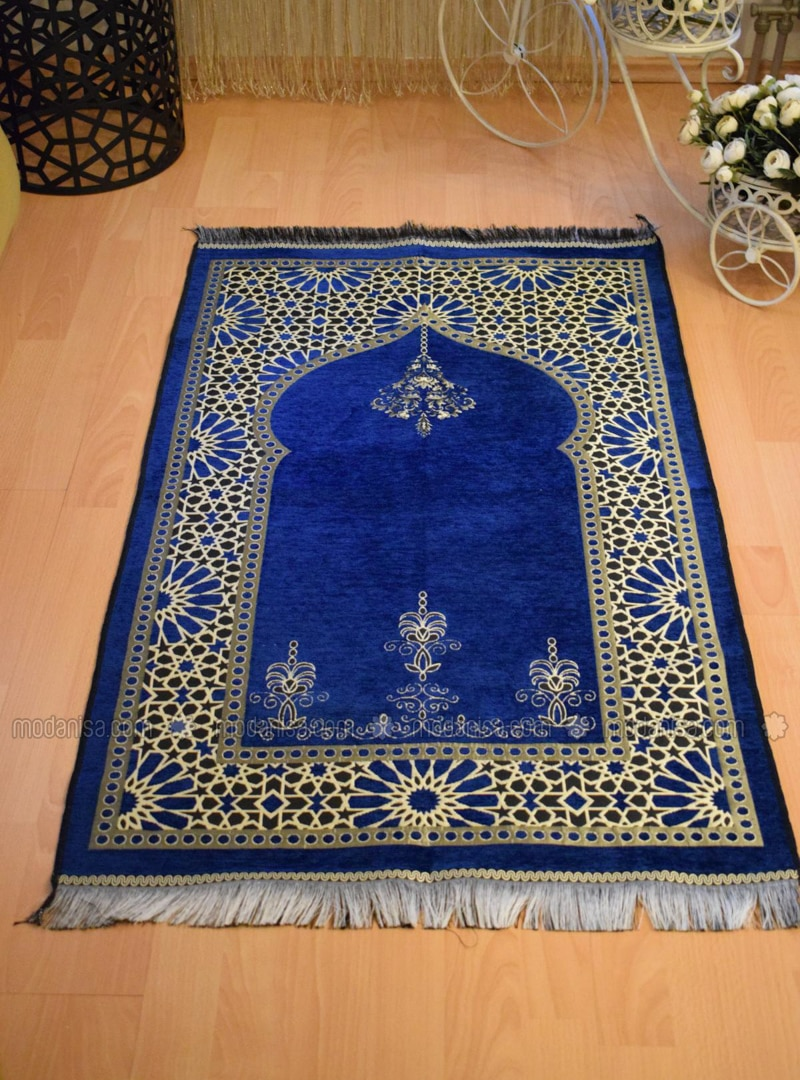 Navy Blue - Prayer Rugs