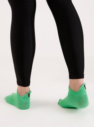 Green - Socks - AKBENİZ