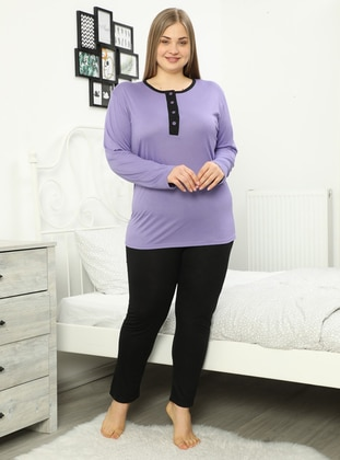 Lilac - Plus Size Pyjamas