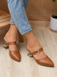 Tan - High Heel - Heels