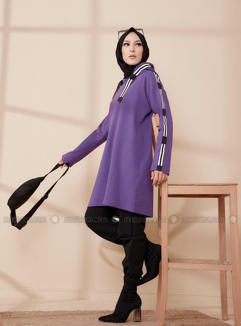 Purple - Sweat-shirt