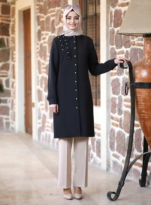 Unlined - Black - Point Collar - Evening Suit