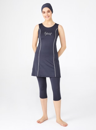 Anthracite - Half Covered Switsuits