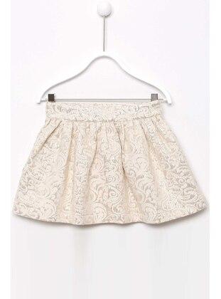 Ecru - Girls` Skirt