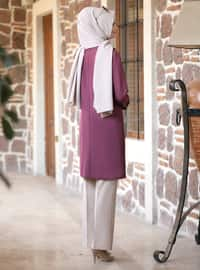 Unlined - Lilac - Point Collar - Evening Suit
