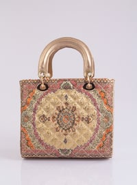 Gold - Satchel - Shoulder Bags
