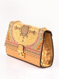 Gold - Crossbody - Satchel - Shoulder Bags