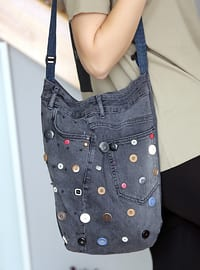Gray - Crossbody - Satchel - Shoulder Bags