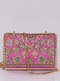 Pink - Satchel - Shoulder Bags