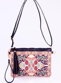 Navy Blue - Satchel - Clutch - Clutch Bags / Handbags