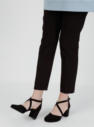 Black - Sandal - Heels