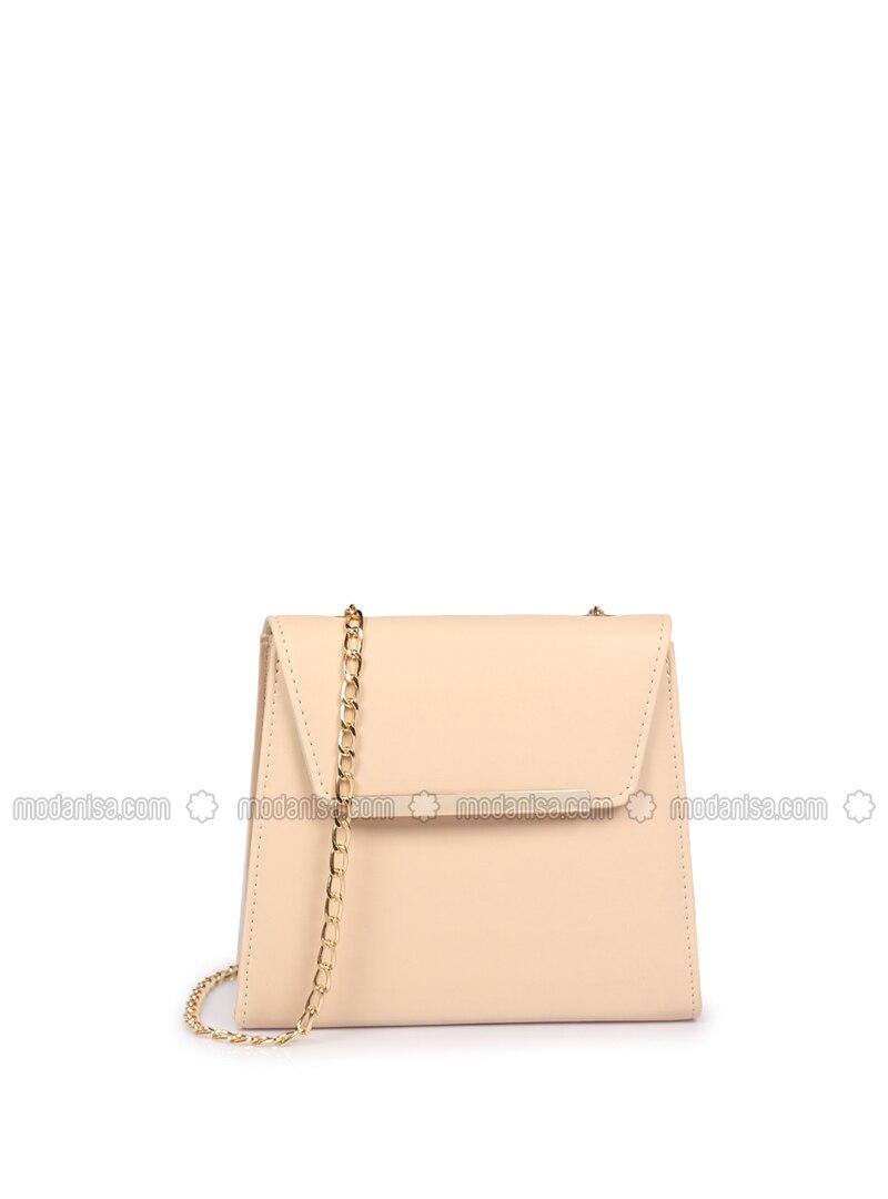 Beige - Crossbody - Satchel - Shoulder Bags