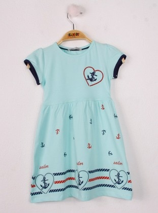 Green Almond - Girls` Dress