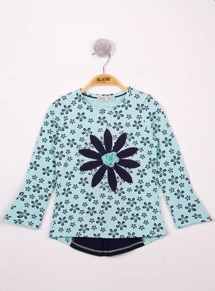 Green Almond - Girls` T-Shirt