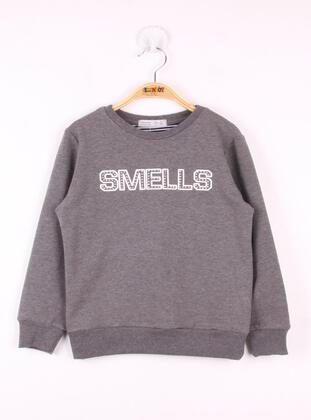 Anthracite - Girls` Sweatshirt