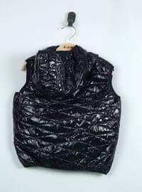 Black - Boys` Vest