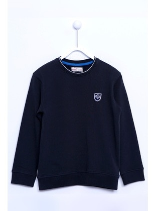 Anthracite - Boys` Sweatshirt - Silversun