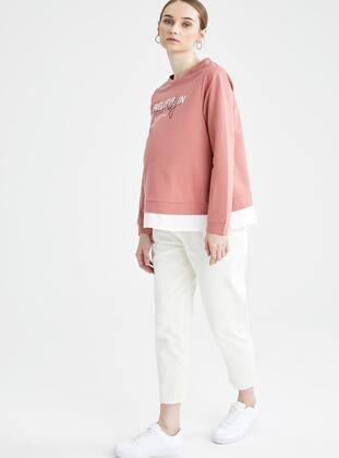 Ecru - Maternity Pants