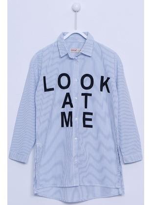 Blue - Girls` Shirt
