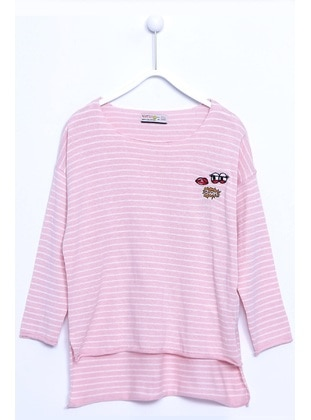 Pink - Girls` Pullover