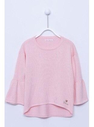 Pink - Girls` Pullovers - Silversun