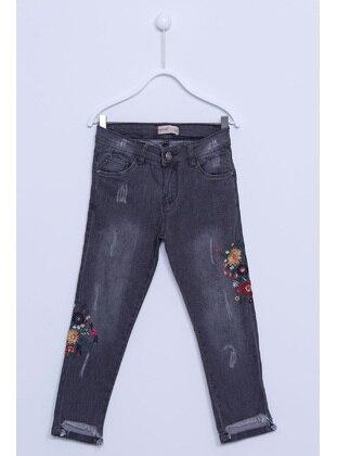 Gray - Girls` Pants - Silversun