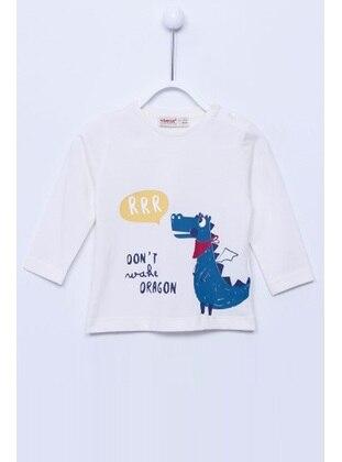 White - baby t-shirts - Silversun