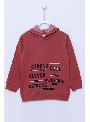 Terra Cotta - Boys` Sweatshirt