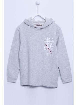 Gray - Boys` Sweatshirt