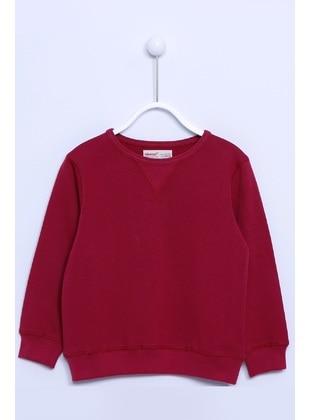 Maroon - Boys` Sweatshirt