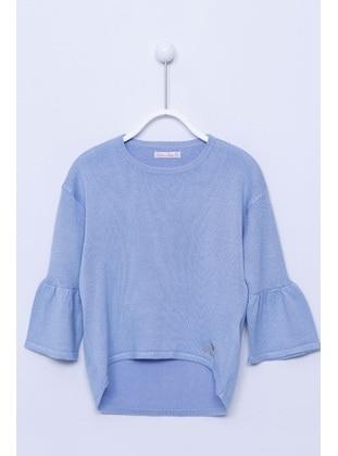 Blue - Girls` Pullovers - Silversun
