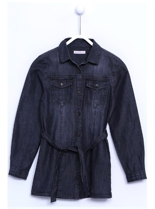 Black - Girls` Shirt - Silversun